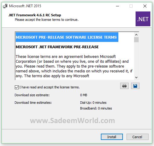 Download microsoft net framework 4 автономный установщик