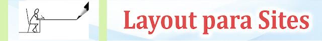Conte conosco para criação de layout para site