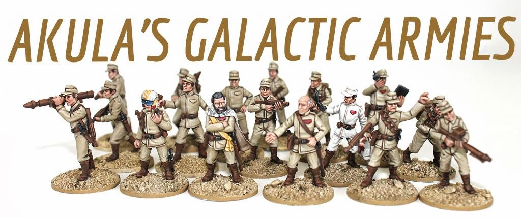 AKULAS Galactic Armies - Castings