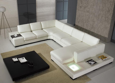20 Modern & Contemporary Living Rooms ~ Modernistic Design