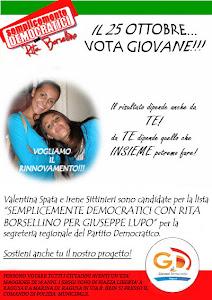 Semplicemente Democratici Con Rita Borsellino