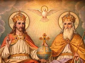 Santissima Trinità, Padre, Figlio e Spirito Santo, io ti adoro profondamente.