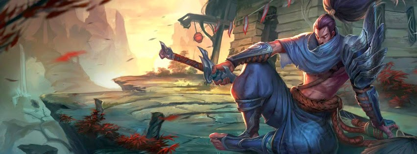 Yasuo League of Legends Facebook Cover Photos