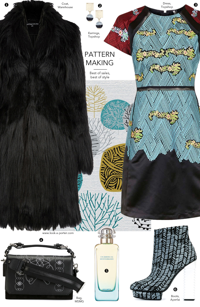 The most perfect way to add a dose of colour to the winter gloomy monochromes via www.look-a-porter.com