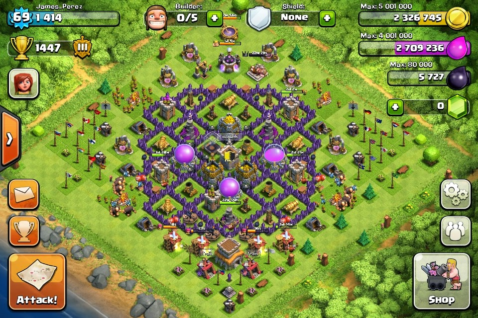 How to Defeat  Town Hall 9 Clash of clans