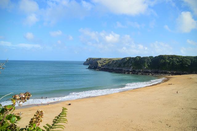 Beautiful Barafundle Bay, Pembrokeshire
