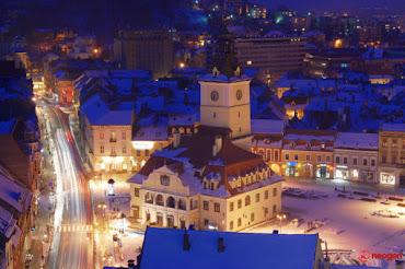 Brasovul iarna, orasul copilariei si adolescentei mele / La ville de mon enfance et mon adolescence