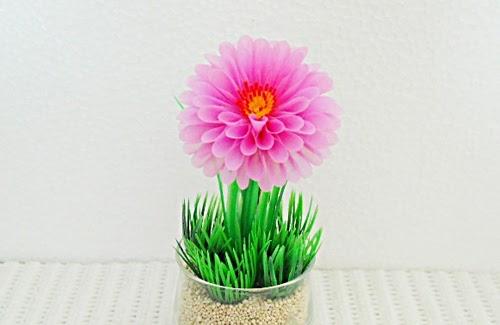Ngulas Cara Membuat Kerajinan Bunga Dari Sedotan