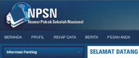 NPSN SDN di Wilayah Surabaya