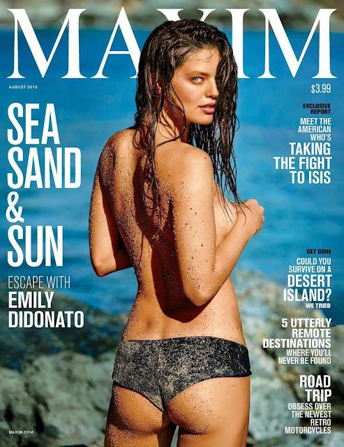 Emily DiDonato - Maxim Magazine, August 2015