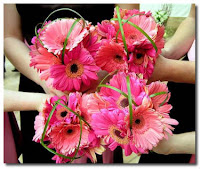 Gerbera Daises Wedding Flowers