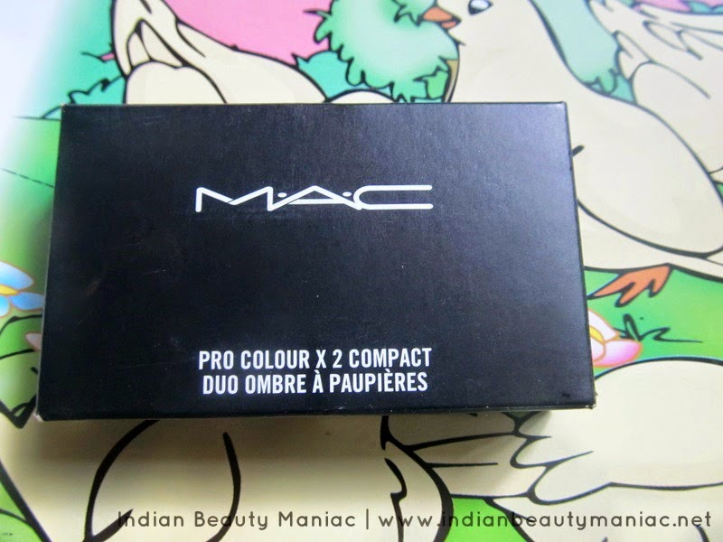 MAC Pro Color X 2 Compact Eyeshadow Palette review, indian beauty blogger, indian makeup blogger, india, eyeshadow palettes in india