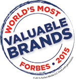 Forbes Most Valuable Brands 2015
