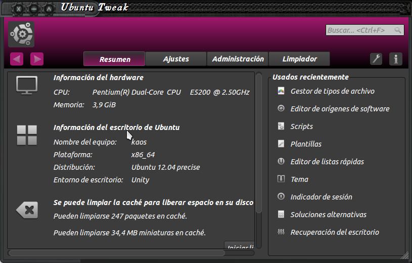 gu 237 a ubuntu instalar ubuntu tweak en ubuntu 12 04