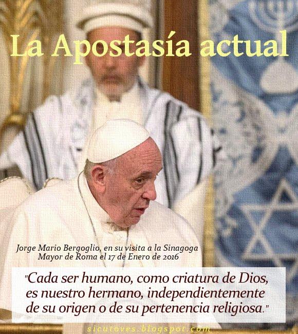 LA APOSTASÍA ACTUAL