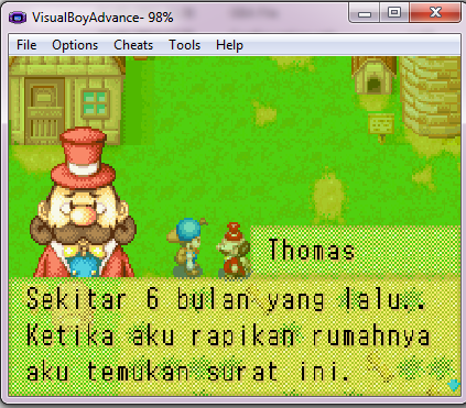 harvest moon gba rom download