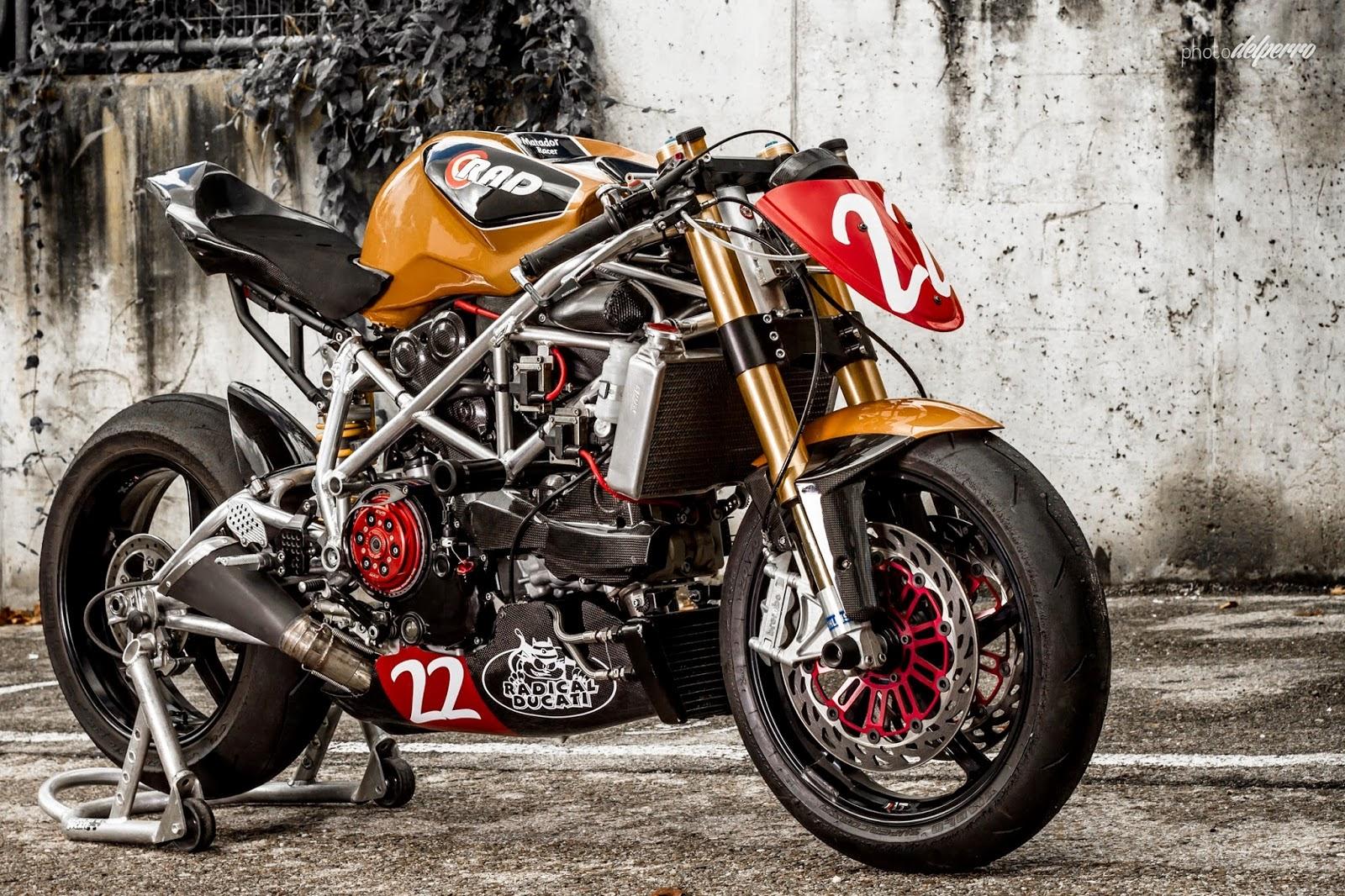 Racing Caf U00e8  Ducati  U0026quot Matador Racer U0026quot  2013 By Radical Ducati