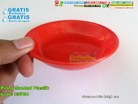 Piring Sambal Plastik