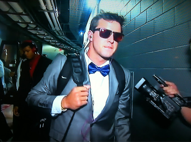 A.J. McCarron comes clean about his bow tie fetish.