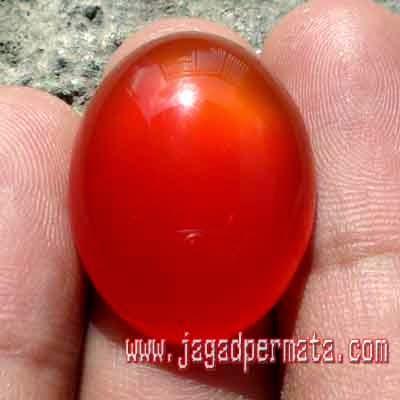 Batu Akik Red Raflesia Bengkulu Asli