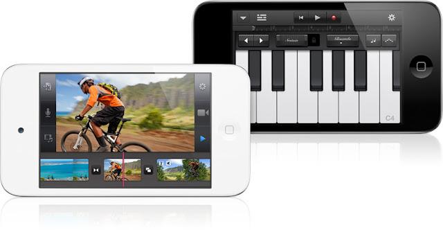 GarageBand và iMovie cho iPhone và iPod touch