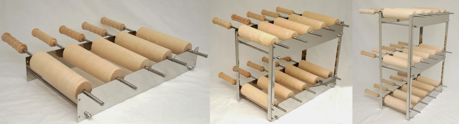 Kurtoskalacs roll racks