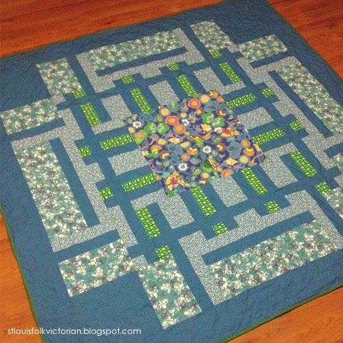 PATHWAYS Quilt // Kristy Daum // Windham Fabrics