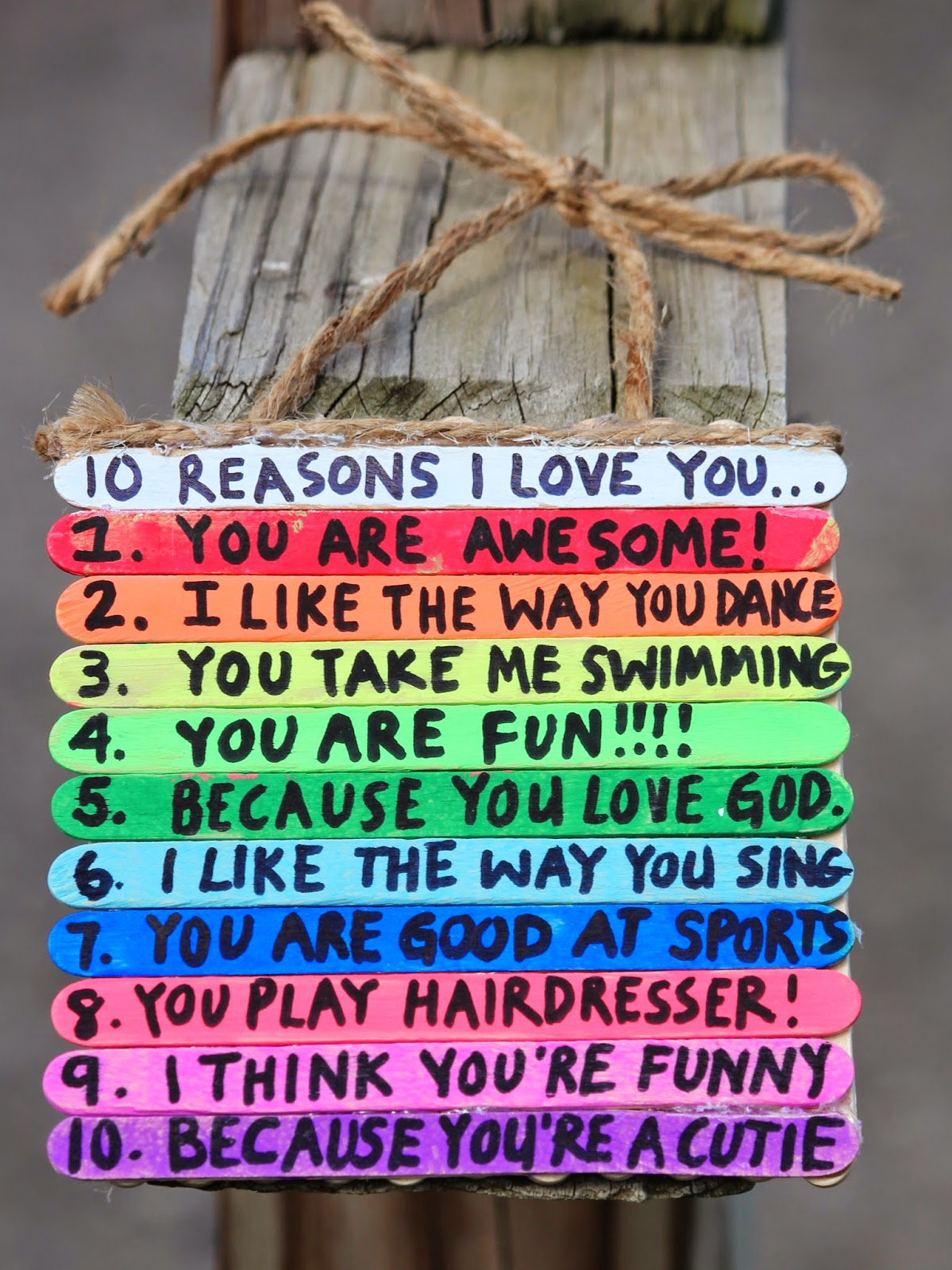 Reasons Y I Love You Quotes : love you here are 10 reasons why lilah loves her daddy my favorite is ...