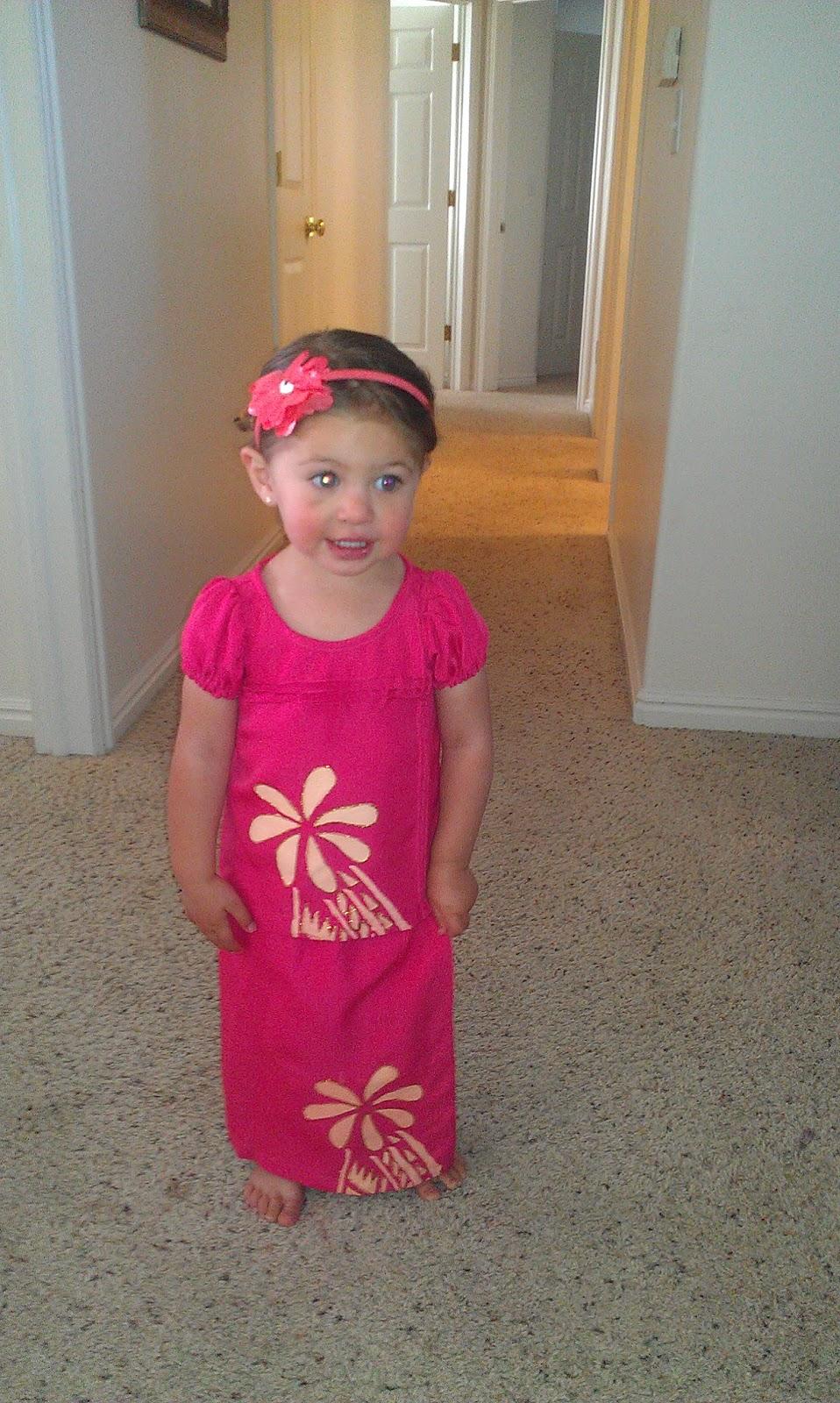 Puletasi Samoan Dress