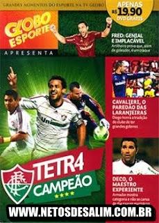 capa Fluminense Tetra Campeão