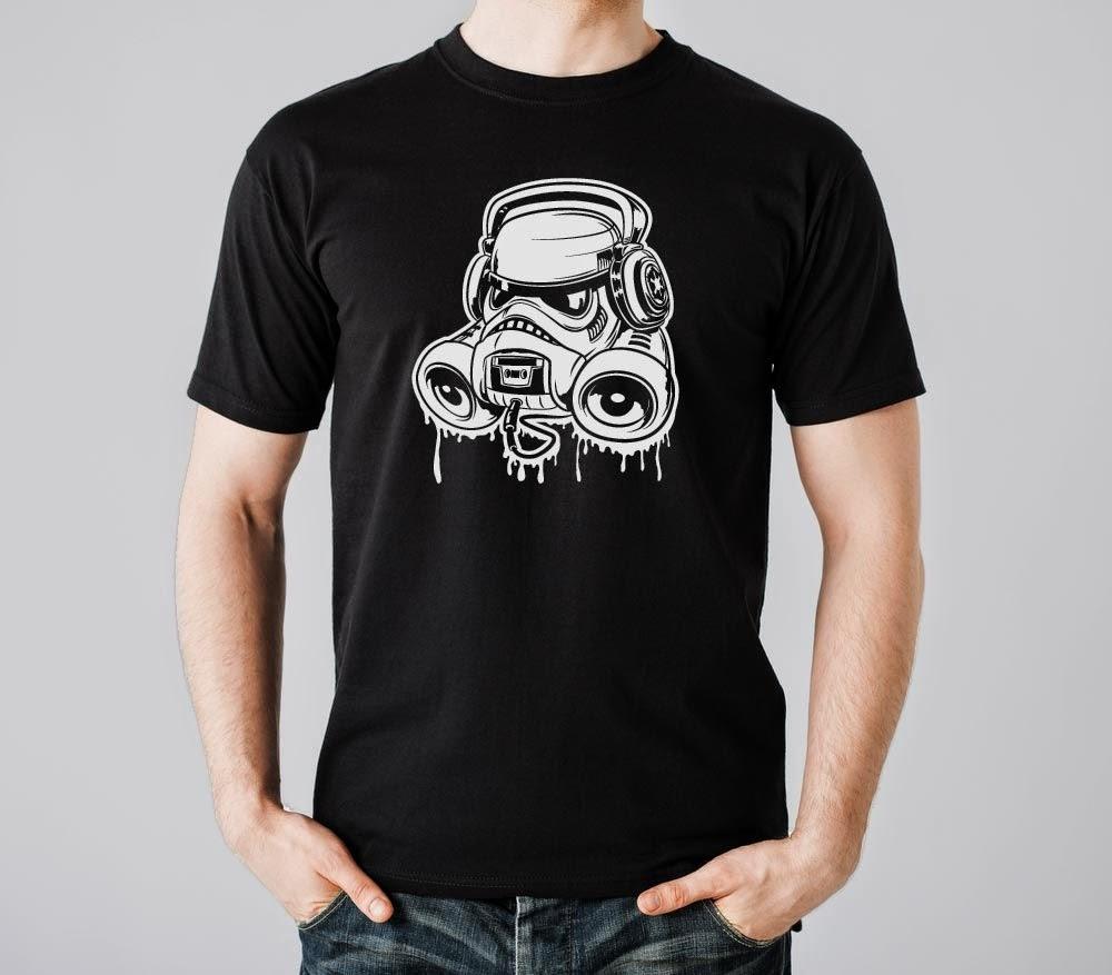 Stormtrooper Boombox t-shirt
