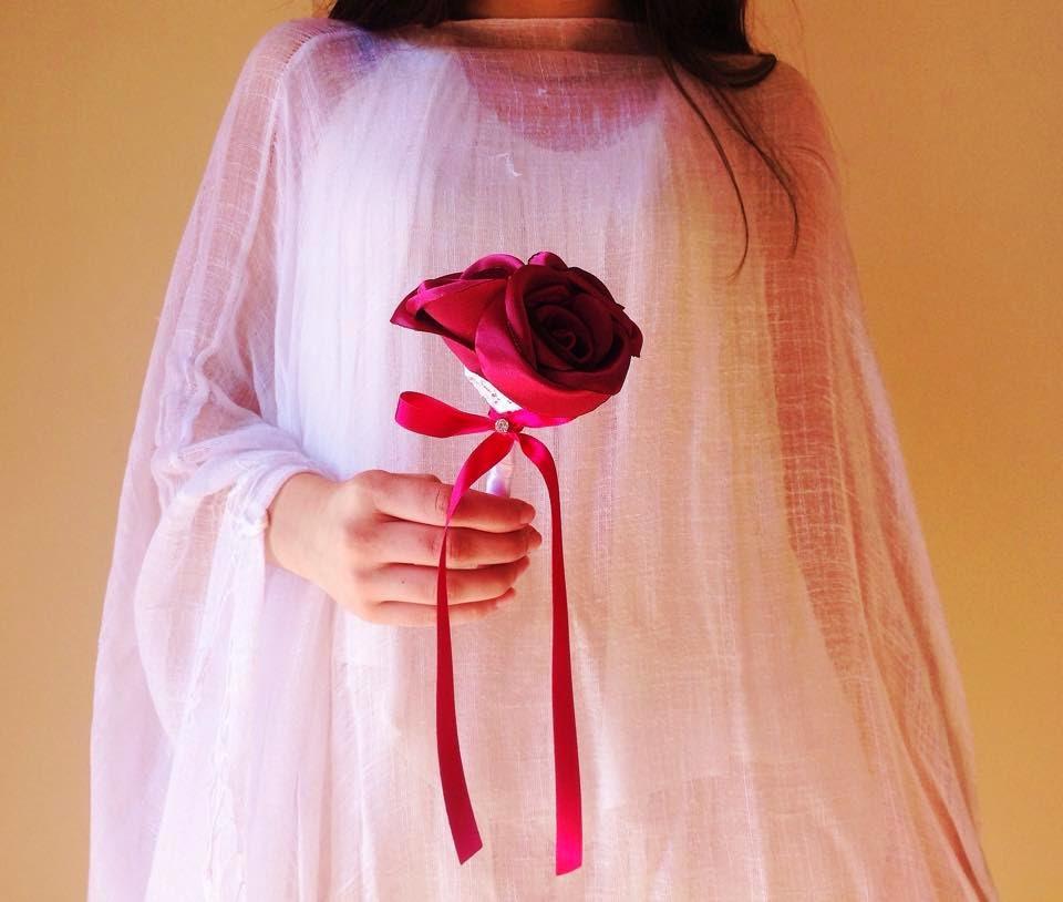bouquet de tres rosas