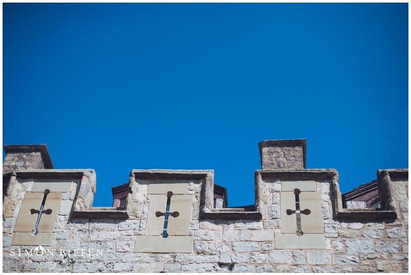 St Donat's Castle turrets