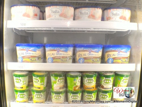 Local and imported ice cream