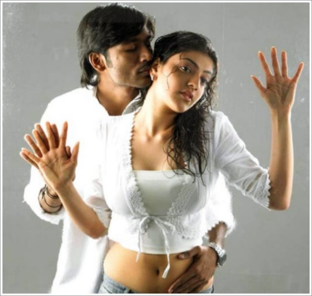 hot Kajal Agarwal Shoot with dhanush