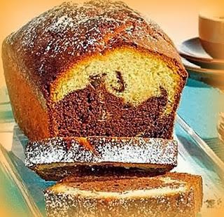 Cake marmoleado