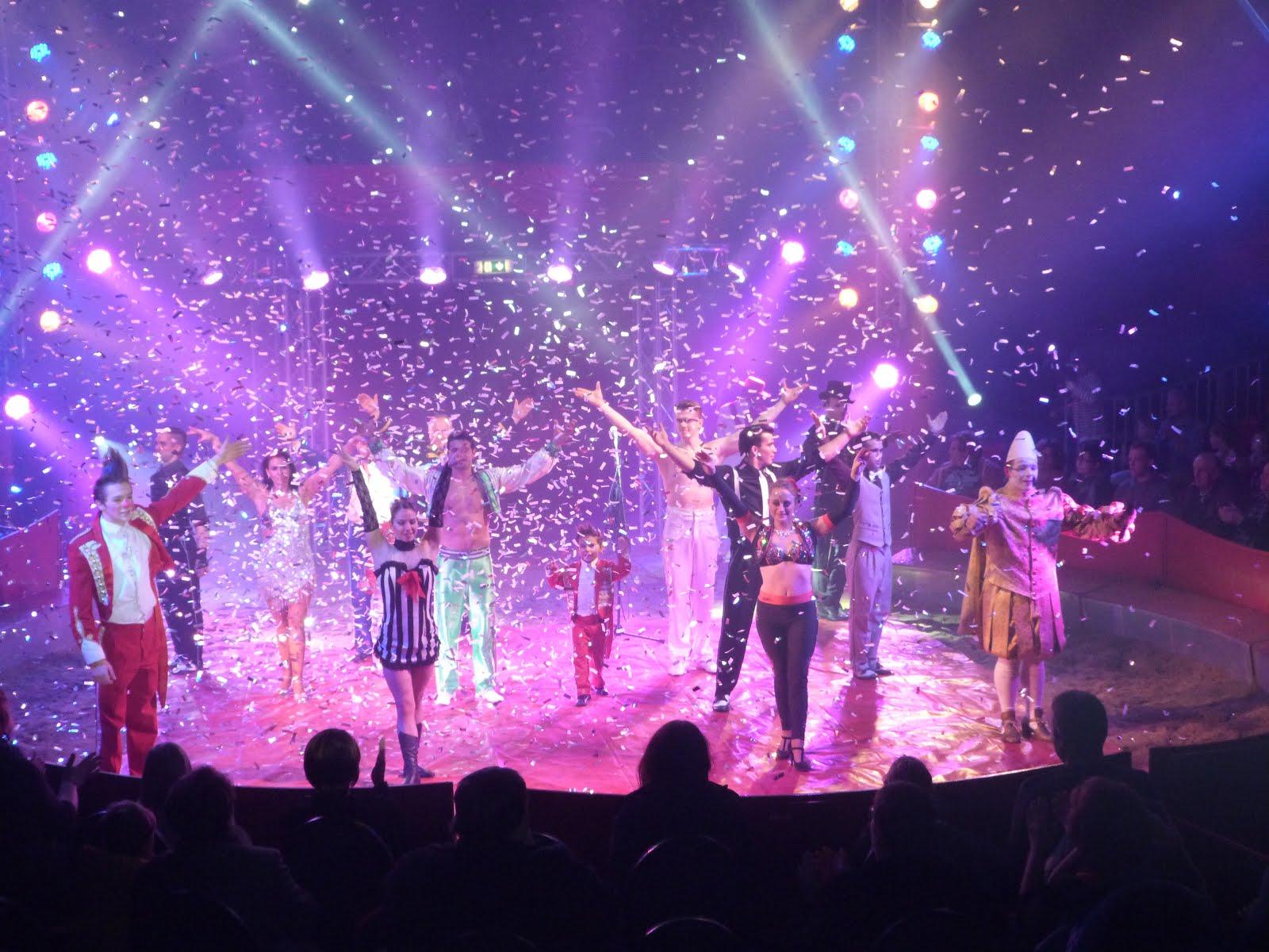 Die Zirkusfamilie -