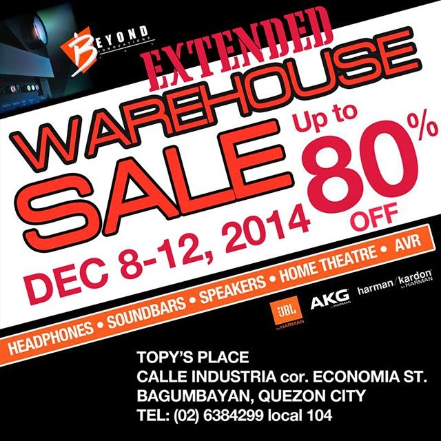 Warehouse Sale on JBL, AKG, Harman, Denon and Booq products