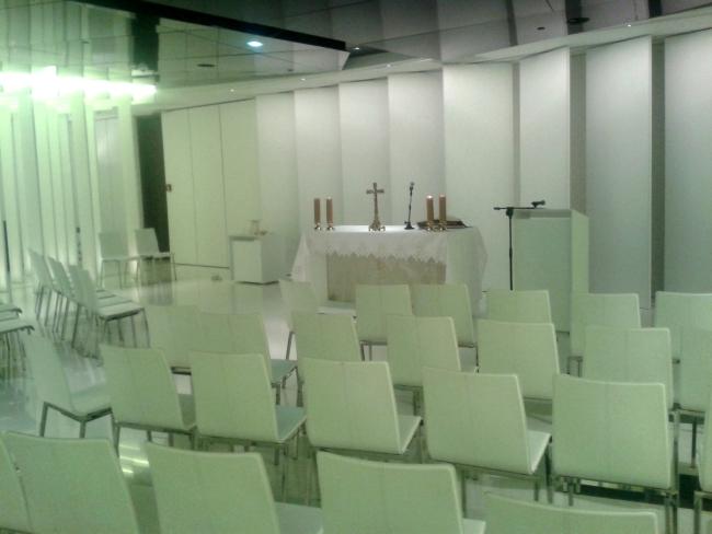 Kaplica na Stadionie Narodowym w Warszawie - fot. Tomasz Janus / sportnaukowo.pl