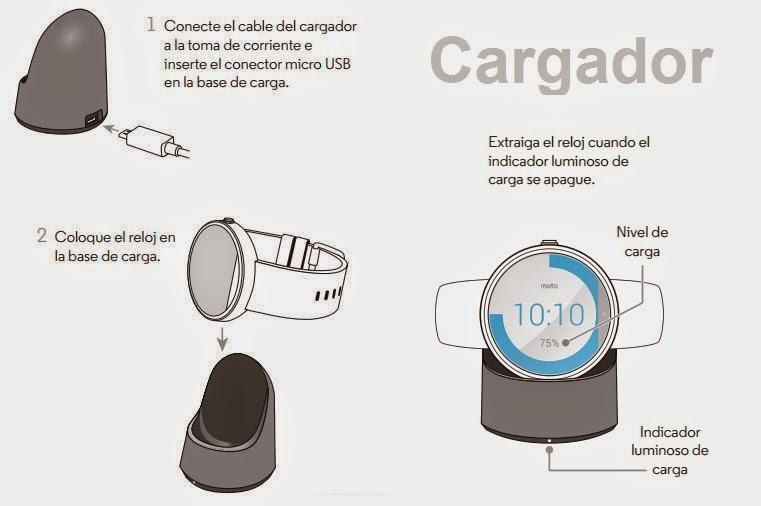 Motorola Moto 360 - Base de carga