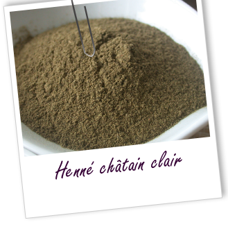 recette henne chatain clair comme aroma zone - Coloration Henne Chatain Clair