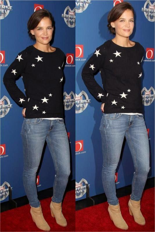 Katie Holmes wore STRÖM Brand