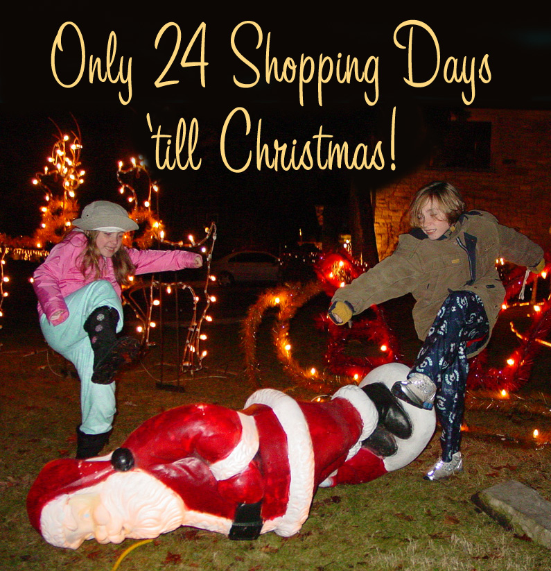only 24 shopping days till christmas - How Many Days Till Christmas Eve