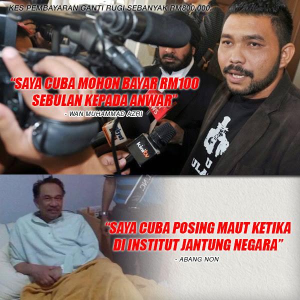 Wan Azri Mampu Bayar RM100 Sebulan?