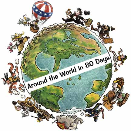 Around the World in 80 Days İndir
