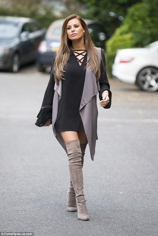 Over The Knee Boots Grey Suede - Cr Boot