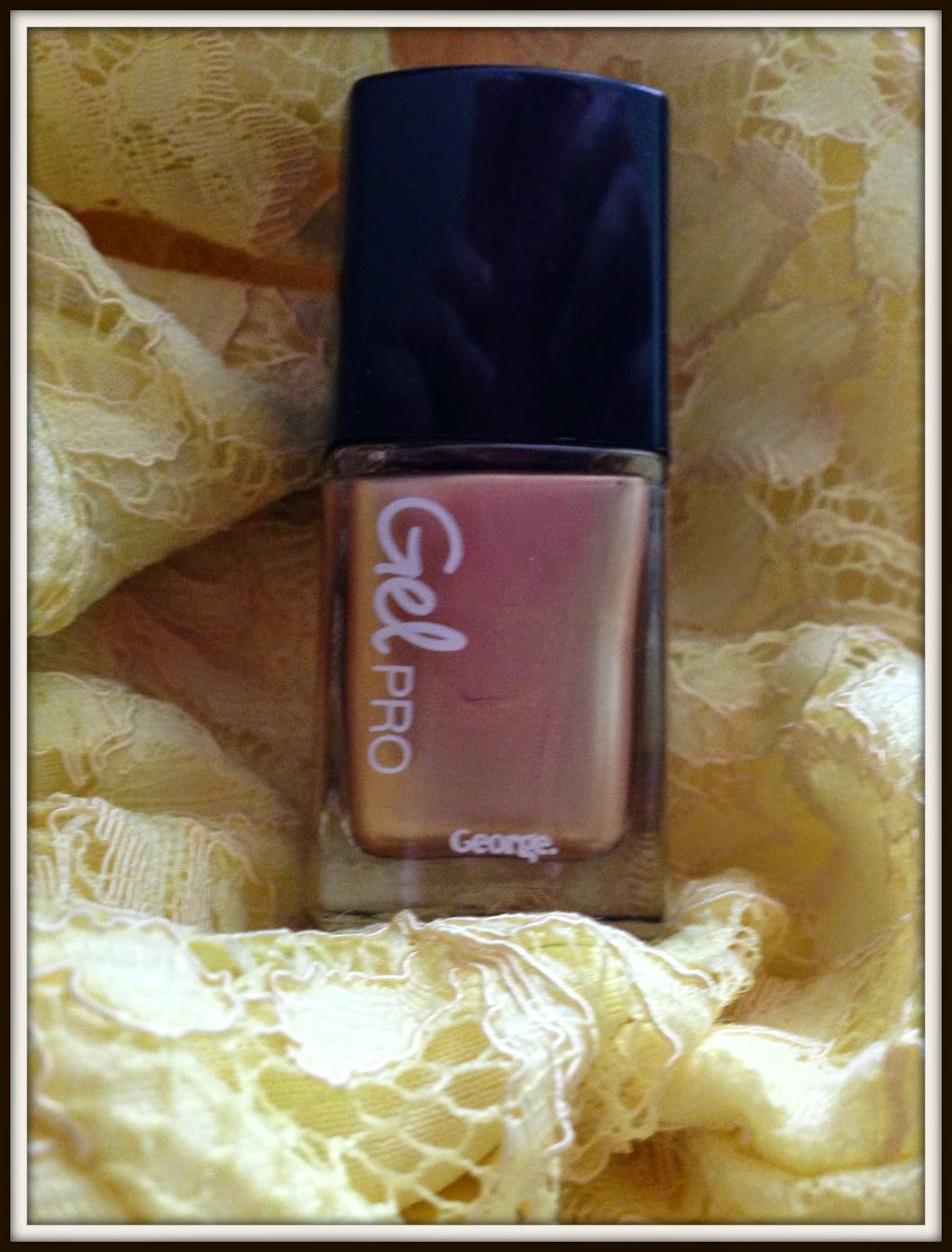 Asda George Quartz Gel Pro Nail Varnish   Glitz and Glamour Makeup