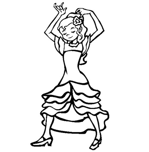 spanish childrens coloring pages - photo#5