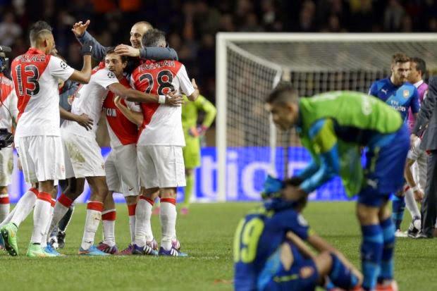 Liga Juara-Juara: Arsenal Tersingkir, info, terkini, sensasi, sukan, bol sepak, UEFA Champion League, Liga Juaraa-Juara, Arsenal