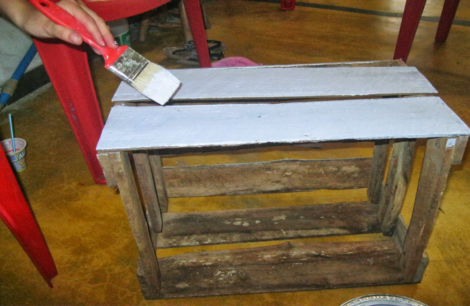 Proyecto Reciclado Mueble Para Zapatos